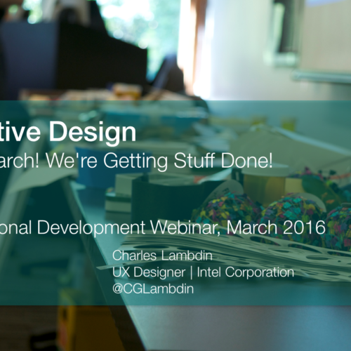 UXPA Webinar on Presumptive Design with Leo and Charles